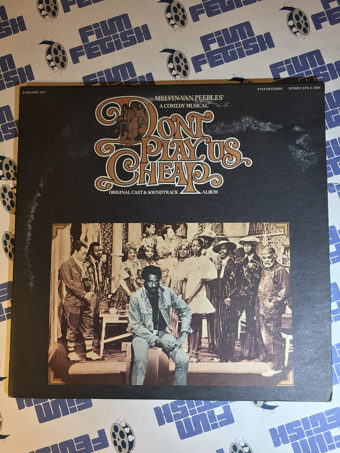 Melvin Van Peebles' Don't Play Us Cheap Original Cast Musical Soundtrack Album 2LP (1972)