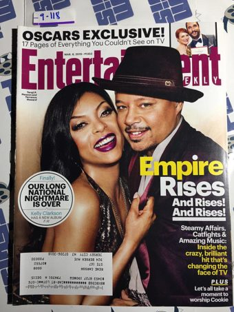 Entertainment Weekly Magazine (Mar. 6, 2015) Taraji P. Henson, Terrence Howard, Empire [9118]