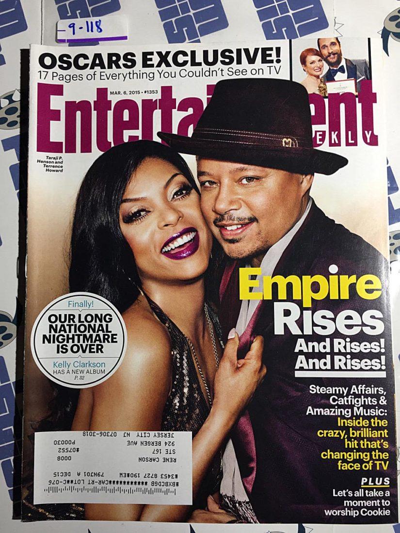 Entertainment Weekly Magazine (Mar. 6, 2015) Taraji P. Henson, Terrence Howard, Empire [9118]