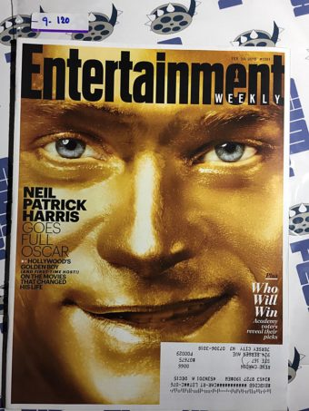 Entertainment Weekly Magazine (Feb. 20, 2015) Neil Patrick Harris, The Academy Awards [9120]