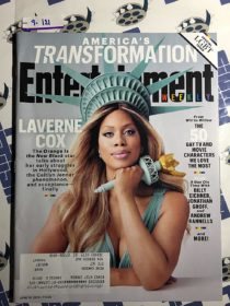 Entertainment Weekly Magazine (June 19, 2015) Laverne Cox, LGBT Issue [9121]