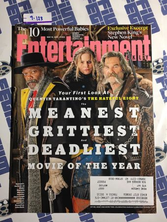Entertainment Weekly Magazine (May 15, 2015) The Hateful Eight, Samuel L. Jackson, Jennifer Jason Leigh, Kurt Russell [9123]