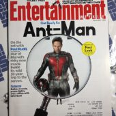 Entertainment Weekly Magazine (Jan. 16, 2015) Paul Rudd, Jessica Chastain, Ant-Man [9127]
