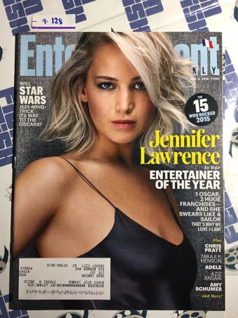 Entertainment Weekly Magazine (Dec. 4, 2015) Jennifer Lawrence [9128]