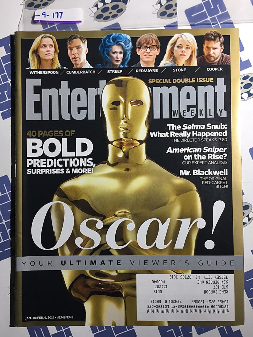Entertainment Weekly Magazine (Jan 30-Feb 6, 2015) Oscar Viewing Guide Special Double Issue [9177]