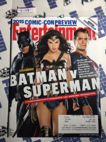 Entertainment Weekly Magazine (July 10-17, 2015) Comic-Con Preview, Exclusive Batman vs. Superman [9213]