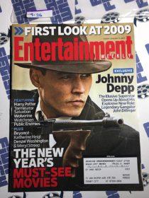 Entertainment Weekly Magazine (Jan 9, 2009) Johnny Depp, Public Enemies [9216]