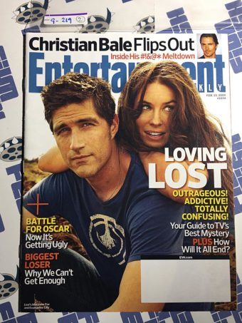 Entertainment Weekly Magazine (Feb 13, 2009) Matthew Fox, Lost [9219]