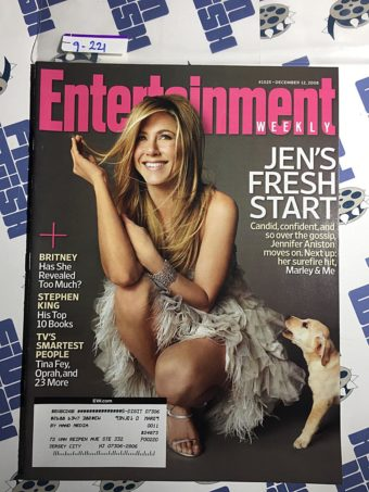 Entertainment Weekly Magazine (Dec 12, 2008) Jennifer Aniston [9221]