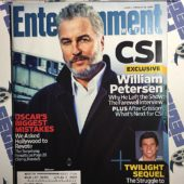 Entertainment Weekly Magazine (Jan 16, 2009) William Petersen, Taylor Lautner [9222]