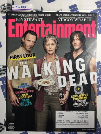Entertainment Weekly Magazine (Aug 7, 2015) The Walking Dead Season 6 First Look [9223]