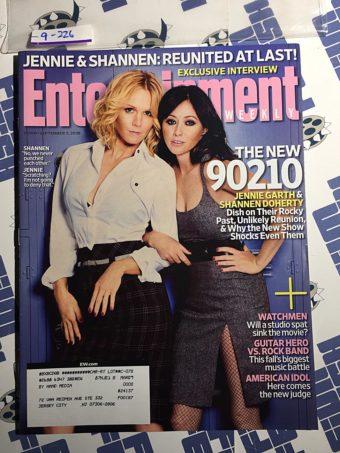 Entertainment Weekly Magazine (Sept 5, 2008) Jennie Garth, Shannen Doherty [9226]
