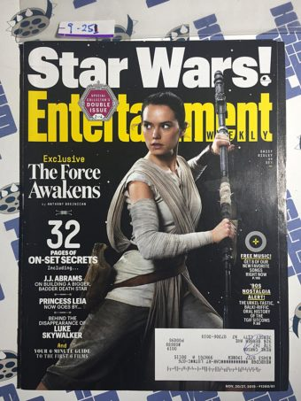 Entertainment Weekly Magazine (Nov 20-27, 2015) Collector's Double Issue, Daisy Ridley, Star Wars [9251]