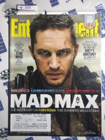 Entertainment Weekly Magazine (May 1, 2015) Mad Max: Fury Road, Tom Hardy [9255]