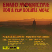 For A Few Dollars More Original Soundtrack Album Limited 10″ Vinyl Edition by Ennio Morricone