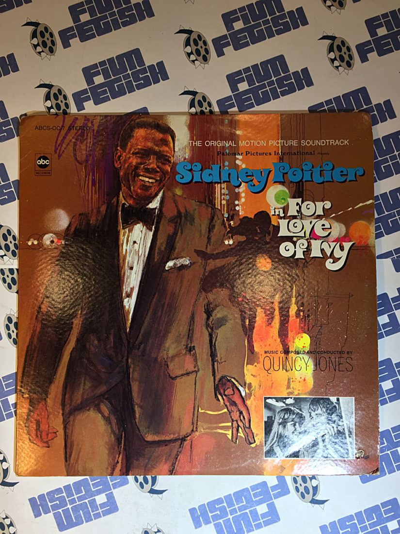 For Love of Ivy Original Motion Picture Soundtrack Composed by Quincy Jones (1968) Sidney Poitier