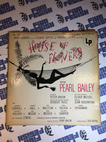 House of Flowers Musical Original Vinyl Soundtrack Album Pearl Bailey (1954)