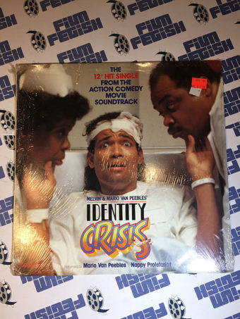 Identity Crisis 12 inch Movie Soundtrack Vinyl Single Mario Van Peebles (1989)