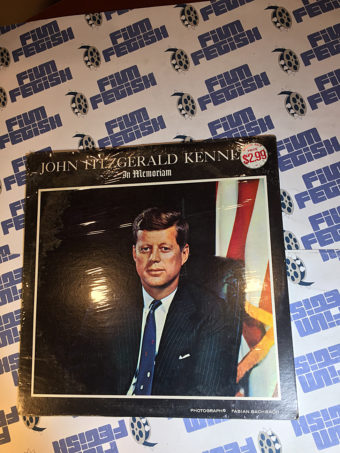 John Fitzgerald Kennedy in Memoriam Vinyl Edition JFK Voice of the 35th President of the United States