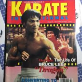Karate International Magazine (Vol. 3 No. 2, Feb. 1993) Jason Scott Lee, Bruce Lee [9188]