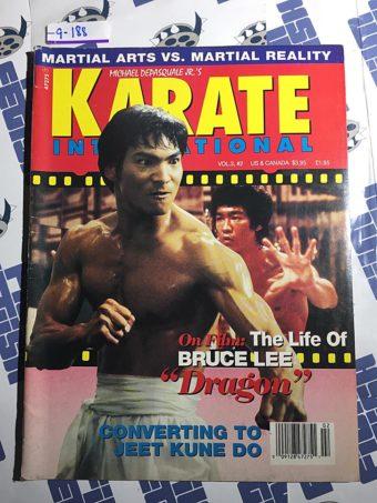 Karate International Magazine (Vol. 3 No. 2, Feb. 1993) Jason Scott Lee, Bruce Lee [9188]