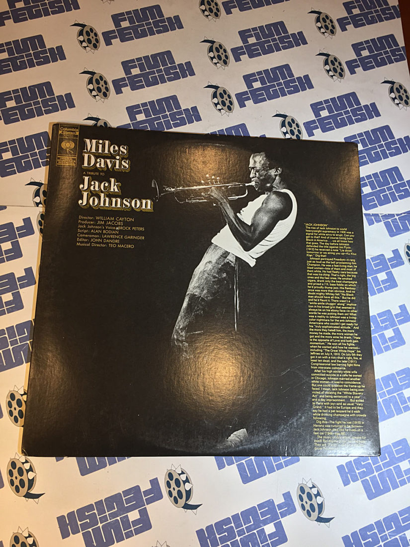 Miles Davis A Tribute to Jack Johnson Vinyl Edition