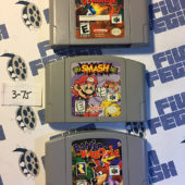 Banjo Kazooie, Super Smash Bros, and Pokemon Stadium Nintendo N64 Games Set [375]