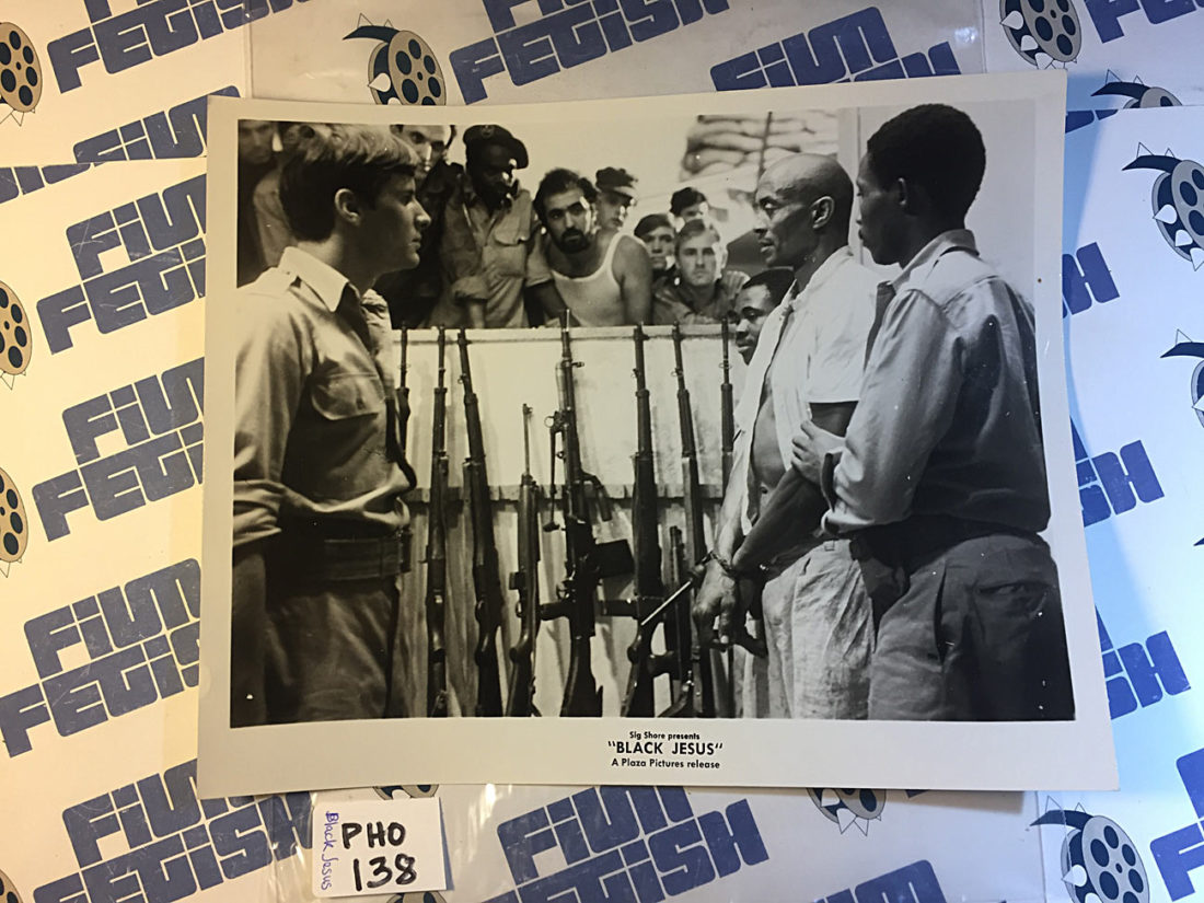 Black Jesus Original Press Photo (1968) Woody Strode [138]