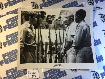 Black Jesus Original Press Photo (1968) Woody Strode [138]