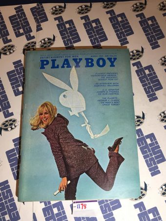 Playboy Magazine (March 1969) Hieronymus Merkin, Arthur C. Clarke [1178]