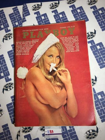 Playboy Magazine (December 1970) William F. Buckley Jr., The Mafia Exposed [1183]