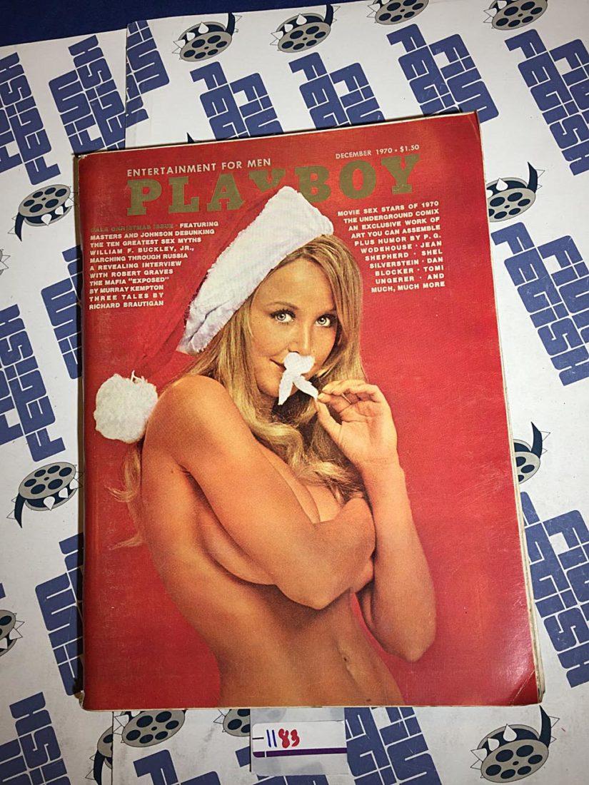 Playboy Magazine (December 1970) William F. Buckley Jr., The Mafia Exposed [1183]