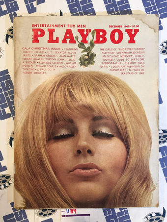 Playboy Magazine (December 1969) Joseph Heller, Alan Watts, Woody Allen [1184]