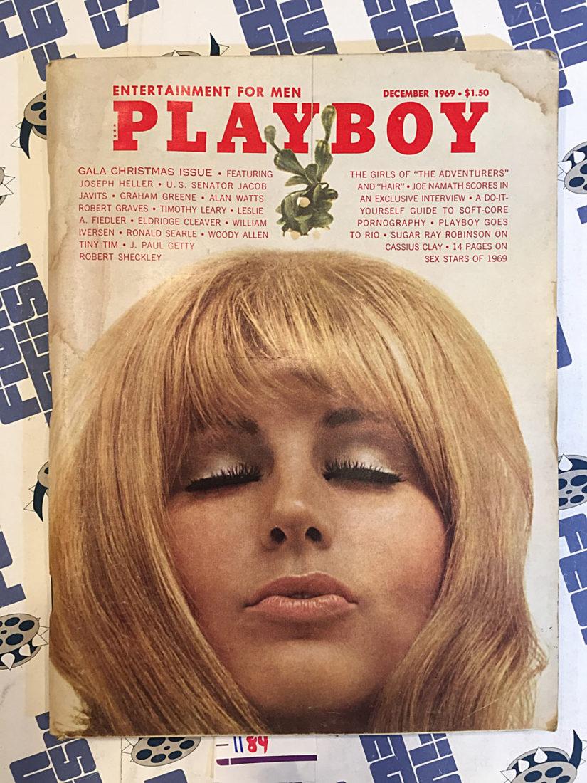 Playboy Magazine (December 1969) Joseph Heller, Alan Watts, Woody Allen [1184]