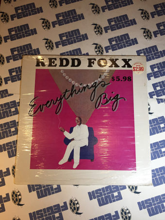Redd Foxx Everything's Big Comedy Album Laff Records Vinyl Edition (1983)