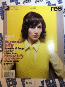 Res Magazine (Vol. 8 No. 3, 2005) Miranda July, Gary Baseman