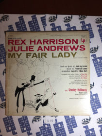 My Fair Lady – Rex Harrison, Julie Andrews Broadway Soundtrack Vinyl LP Edition (1956)