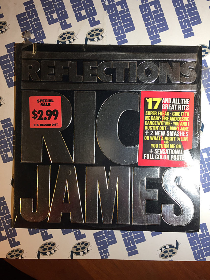 Rick James Reflections Vinyl Edition, Motown Records