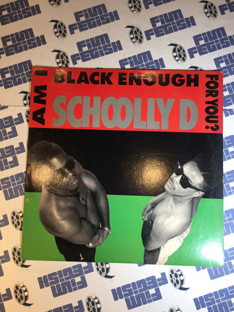 Schoolly D Am I Black Enough For You? Original Vinyl Edition (1989)