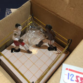 Boxing Ring Classic Wind Up Slugger Champions Tin Collector Toy