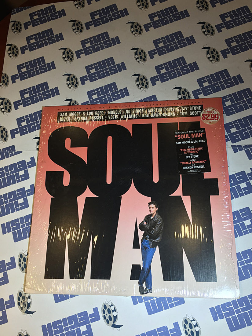 Soul Man Original Motion Picture Soundtrack Vinyl Edition (1986)