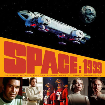 Space: 1999 Original Motion Picture Soundtrack 2LP Vinyl Edition by Ennio Morricone