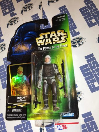 Star Wars: The Power of the Force – Dengar with Blaster Rifle Action Figure [1232]