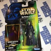 Star Wars: The Power of the Force – Emperor Palpatine with Walking Stick Action Figure [1234]