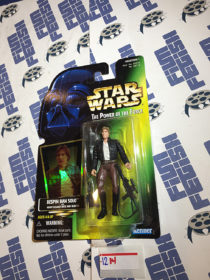 Star Wars: The Power of the Force – Bespin Han Solo with Heavy Assault Rifle and Blaster Action Figure [1214]