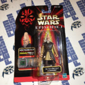 Star Wars: Episode I Ki-Adi-Mundi Action Figure and Lightsaber with Talking CommTech Chip [1207]