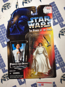 Star Wars: The Power of the Force – Princess Leia Organa with Laser Pistol and Assault Rifle (1995) [1221]