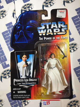 Star Wars: The Power of the Force – Princess Leia Organa with Laser Pistol and Assault Rifle (1995) [1223]