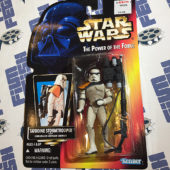 Star Wars: The Power of the Force – Tatooine Stormtrooper with Concussion Grenade Cannon Action Figure (1996) [1213]