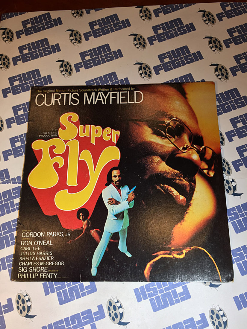 Super Fly Original Motion Picture Soundtrack Performed by Curtis Mayfield Vinyl Edition (1972)